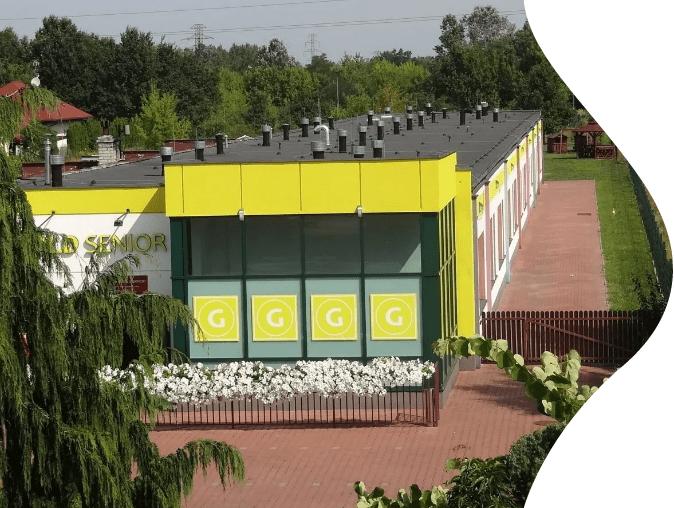 Dom opieki na Bielanach w Warszawie